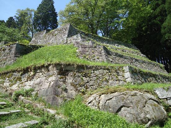 Ena, Giappone: 六段状の石垣 2