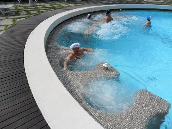 Igea Suisse Hotel Terme: idromassaggio