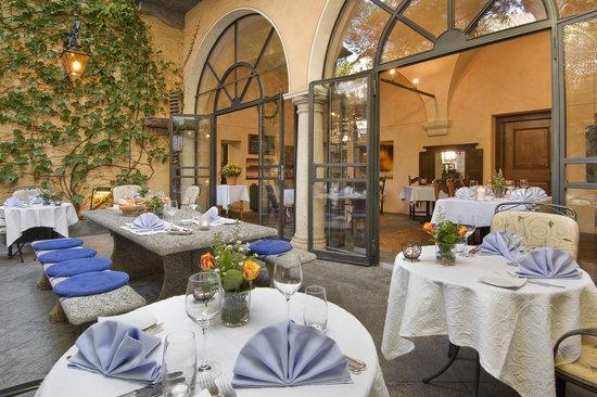 Osteria Al Giardinetto: Im Patio