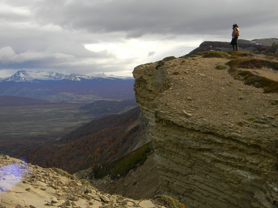 Puerto Natales, شيلي: Mirador a más de 800 metros de altura