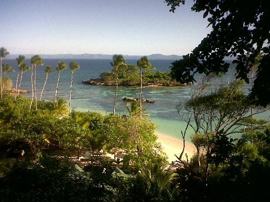Luxury Bahia Principe Cayo Levantado: Vista a la playa