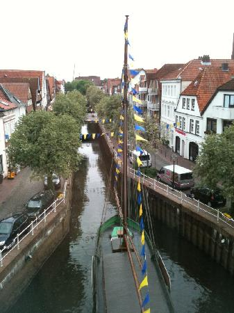 Buxtehude, Tyskland: View From Our Room