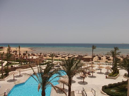 Imperial Shams Abu Soma Resort : Balkonblick Osten