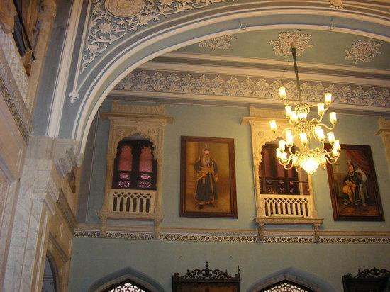 Darbar Hall: dining room