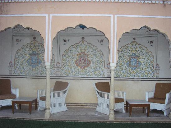 Darbar Hall: terrace
