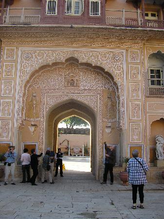 Darbar Hall: entry