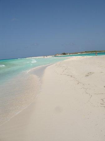la spiaggia di Cayo de Aqua