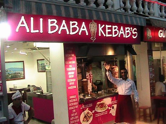 Gümbet, Türkiye: proper kebabs
