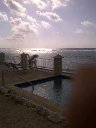 Bodden Town, Grand Cayman: View from our patio door