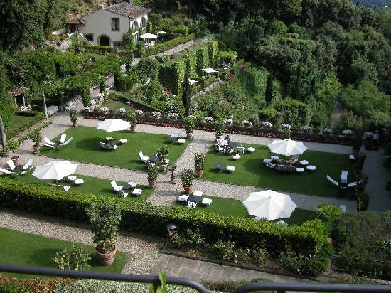 Belmond Villa San Michele: View from the Pool Terrace