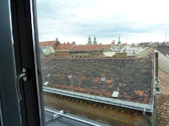 Bohem Art Hotel: view from the window