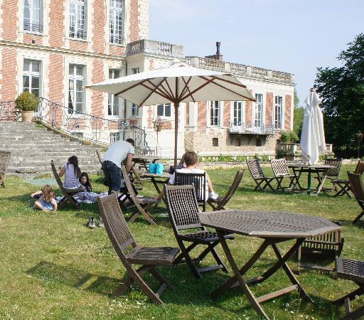 Yerres, Francia: giardino