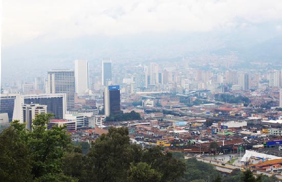 Medellín, Colombia: View fron 'Cerro Nutibara'