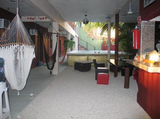 Chalupa Hostal: interior