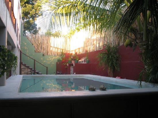 Chalupa Hostal: pool
