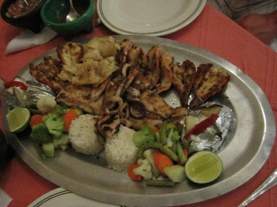 Sonora Grill: Seafood Platter for Two