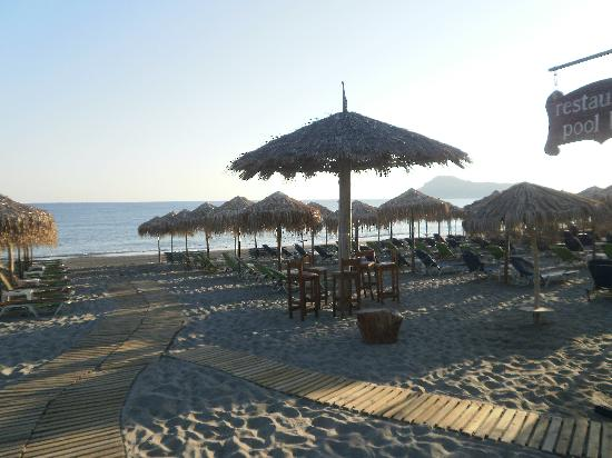 Ideal Beach Hotel: Beach