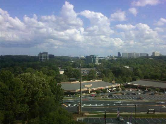 Hyatt Regency Suites Atlanta Northwest: View from the 7th floor.
