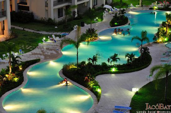 Jaco Bay Resort Condominium: Ramada Jaco Bay - Pool View