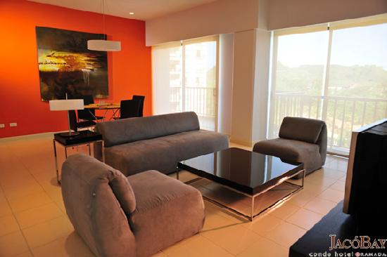 Jaco Bay Resort Condominium: Ramada Jaco Bay - Living Room