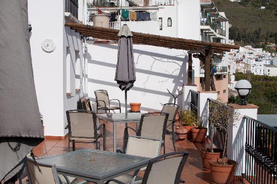 Hotel La Casa: The terrace