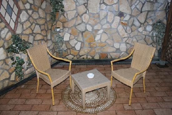 Hotel Prestige Sorrento: Our terrace