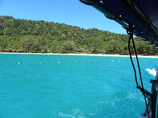 Perhentian Island Resort: Resort from the sea