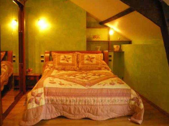 Les Prés Fleuris de Coat Argae : La chambre Emeraude