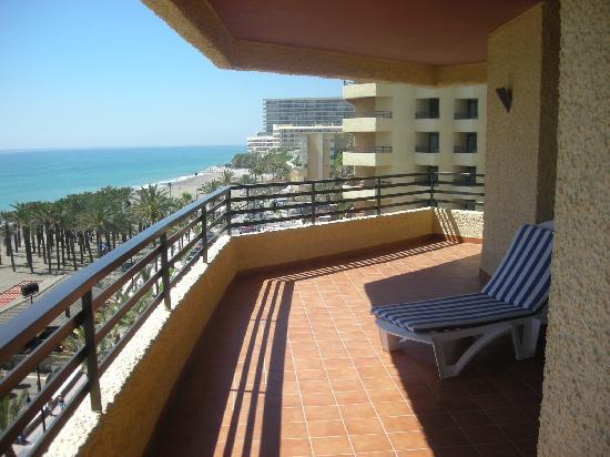 Melia Costa del Sol : Balcony of Junior Suite
