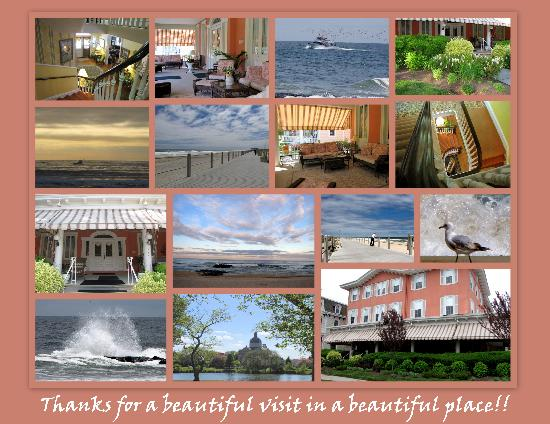 What a great collage of The Ocean House and the Spring Lake experience!