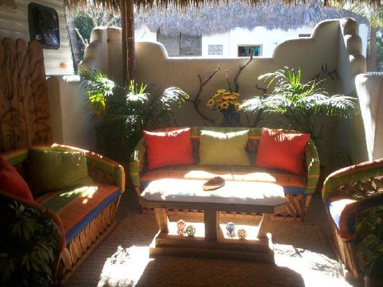 Los Barriles, Mexico: Our outside living room