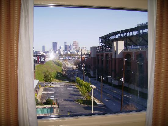 View From Bedroom Picture Of Country Inn Suites By Radisson Atlanta Downtown South At