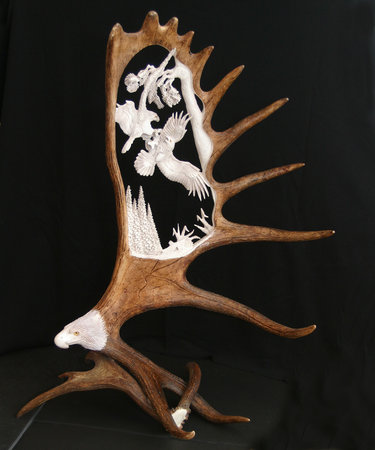 Unique Antler Design Wildlife Gallery: Antler carvings