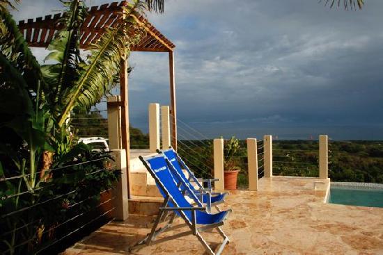 Vieques Villa Gallega A-16-N: deck