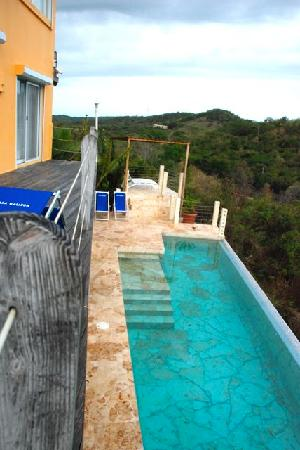 Vieques Villa Gallega A-16-N: from upper deck