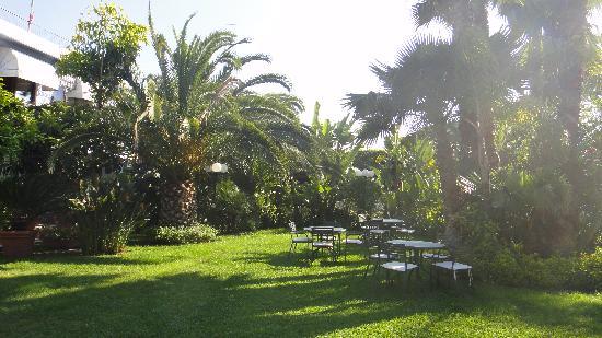 Hotel Villamare: внутренний дворик