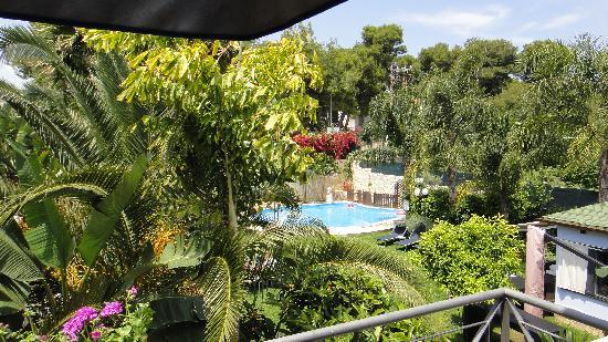 Hotel Villamare: вид с балкона
