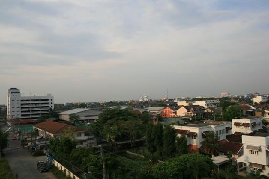 Siam Piman Hotel: Aussicht vom Balkon