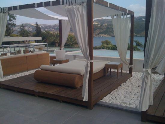 Out of the Blue Capsis Elite Resort : incredible sunbeds