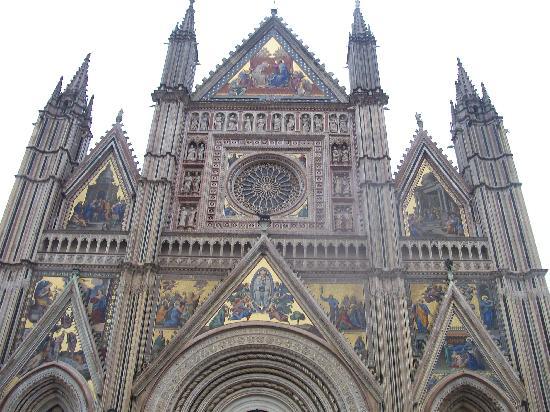Ορβιέτο, Ιταλία: Catedral de Orvieto, detalle.