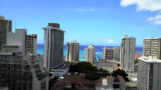 444 Nahua: 屋上からの眺めです。ハワイの海が結構見えます
