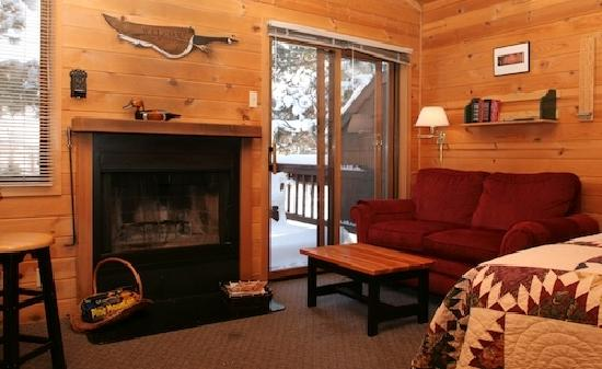 Winthrop Mountain View Chalets: Cabin 5
