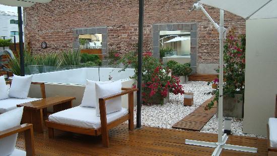 azur real hotel boutique solarium jacuzzi terraza