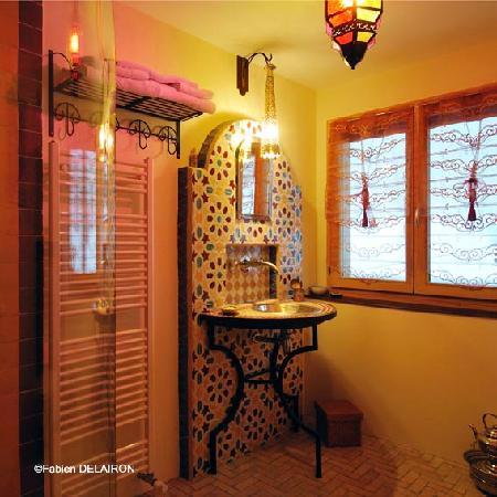 Maholyne Maison d'hotes: le bain marocain