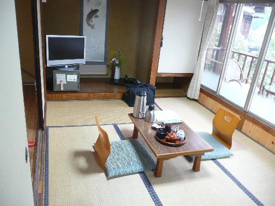 Ryokan Fujioto: Our room