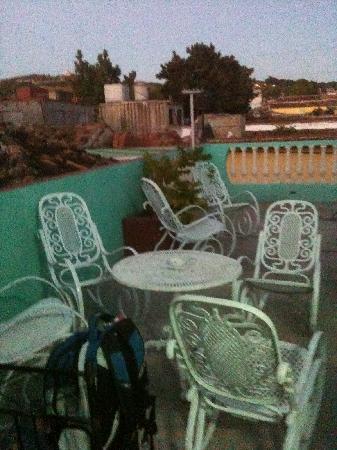 Casa de Rosita: Vue de la terrasse adjacente à la chambre