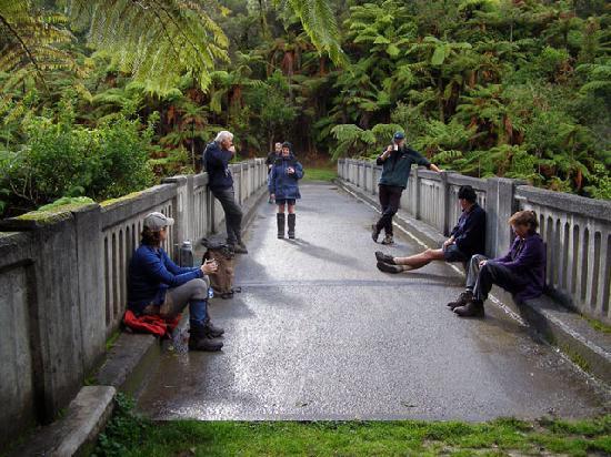 Puente de la nada: Group on Bridge To Nowhere