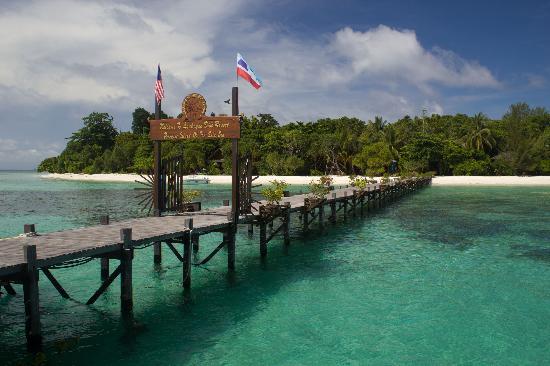 Lankayan Island Dive Resort: Lankayan Island