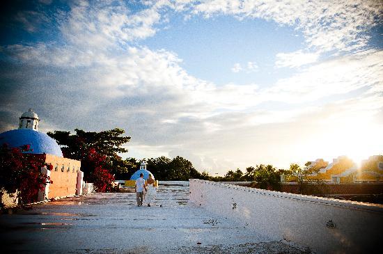 Luxury Bahia Principe Akumal Don Pablo Collection : The Hacienda Rooftop!