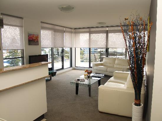 Sevan Apartments: Air conditioned open plan living with large balconies